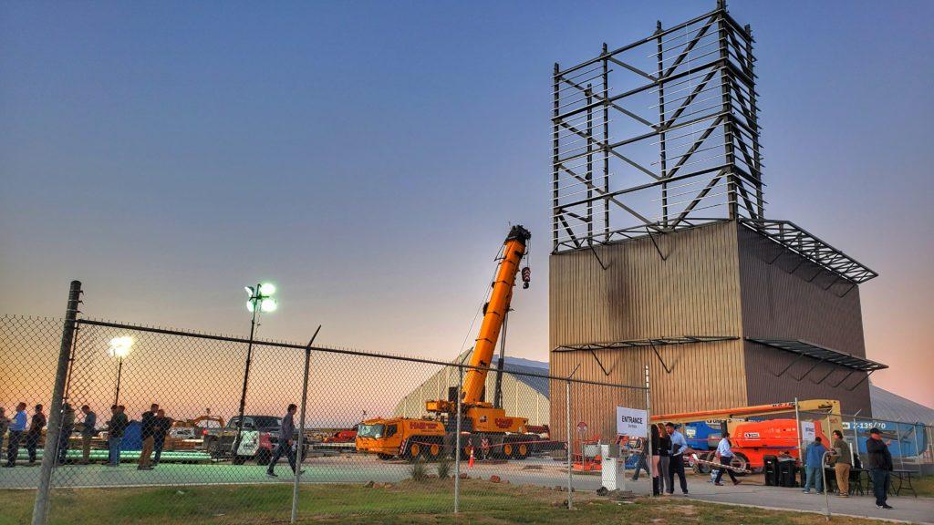 New Rocket Hangers under construction