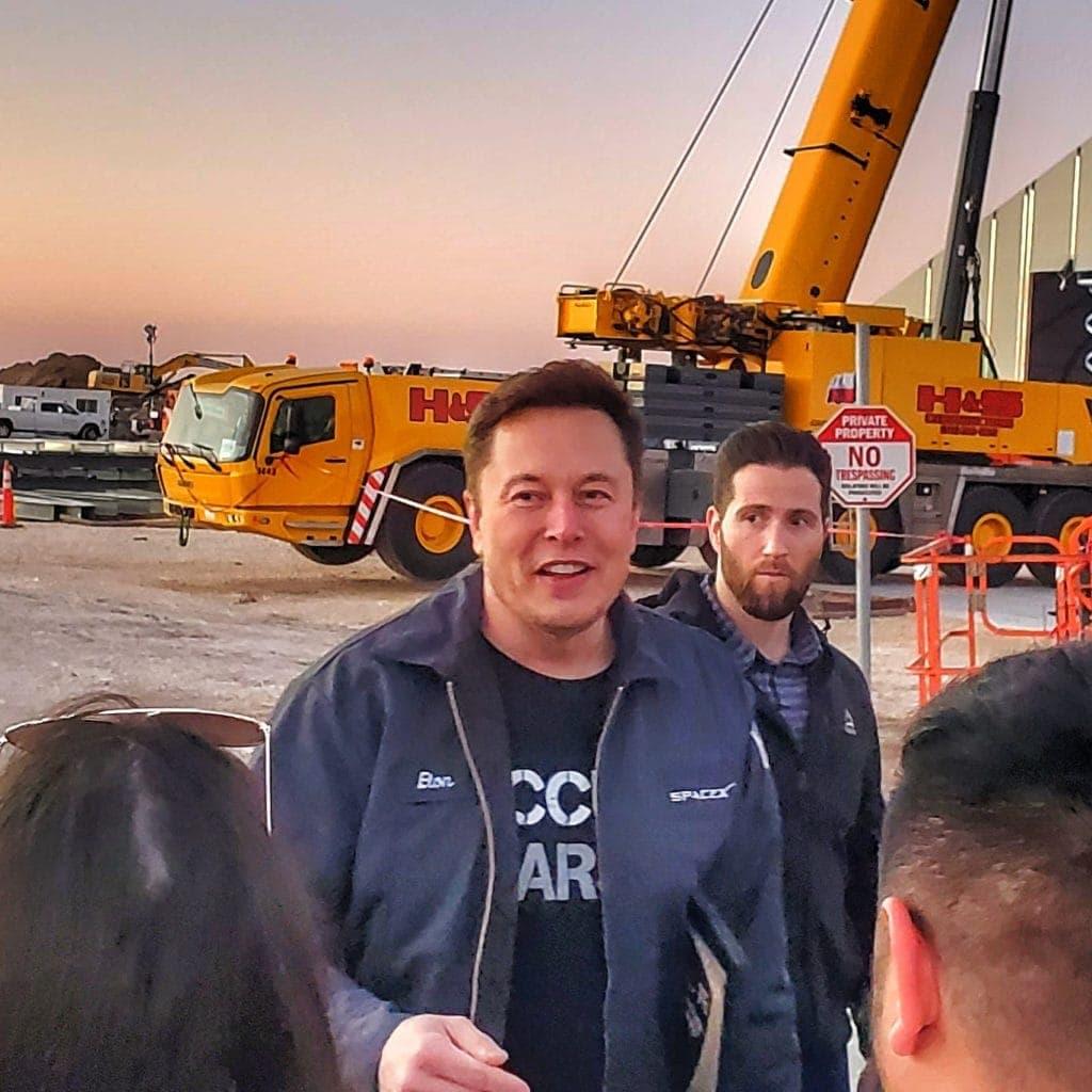 The Legendary Elon Musk.  Visionary