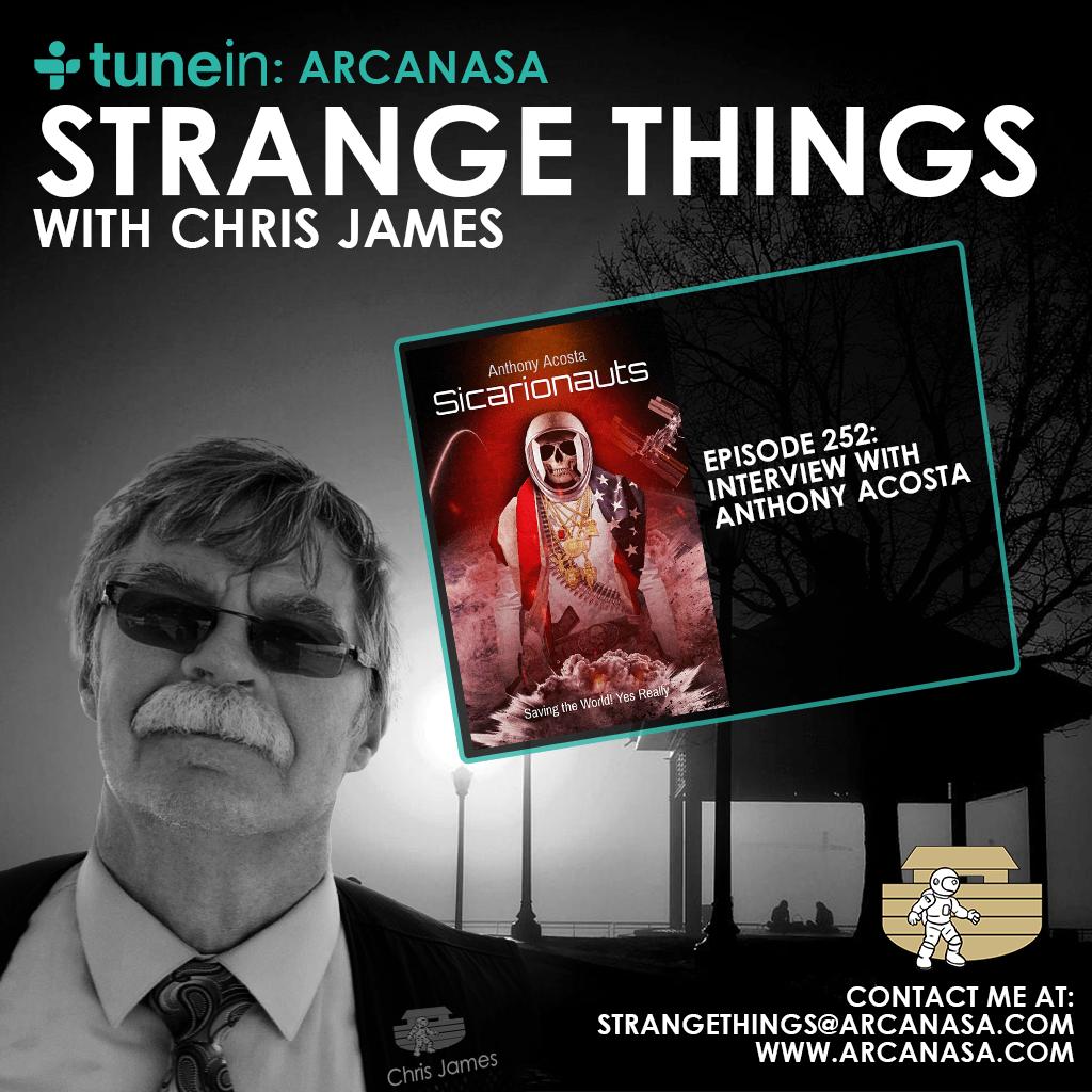 Strange things with Chris James